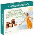 Набор конфет Комильфо Миндаль и крем карамель с двухслойной начинкой 232 г