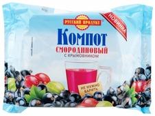 Компот Русский Продукт Быстрорастворимый смородиновый с крыжовником 170 г