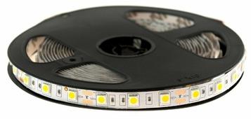 Светодиодная лента URM-LED 5050-60led-12V-14.4W-18-20LM-3000K-IP22-10mm 5 м