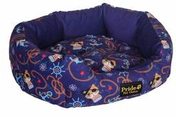 Лежак для собак, для кошек PRIDE овальный Боцман (10011901) 50х47 см
