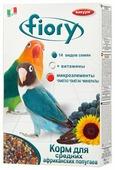 Fiory корм Parrocchetti African для средних попугаев