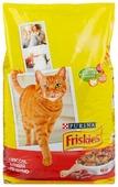 Корм для кошек Friskies С мясом, курицей и печенью