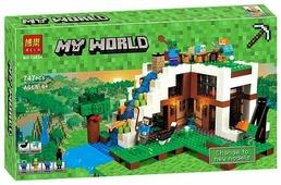 Конструктор BELA (Lari) My World 10624 База на водопаде