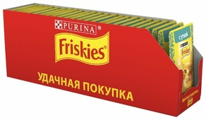 Корм для кошек Friskies с уткой 85 г (кусочки в соусе)