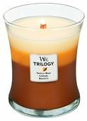 Свеча WoodWick Trilogy Cafe Sweets (Vanilla bean, Caramel, Biscotti) (92904), средняя