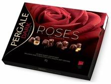 Набор конфет Pergale Dark Chocolate Roses collection 382 г