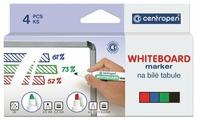 Centropen Набор маркеров для доски (8559/4PVC), 4 шт.