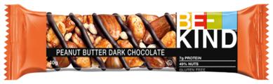 Ореховый батончик Be-Kind Peanut Butter Dark Chocolate, 40 г