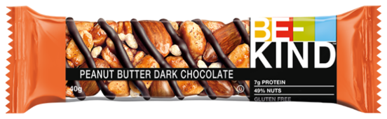 Ореховый батончик Be-Kind Peanut Butter Dark Chocolate, 40 г