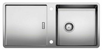 Интегрированная кухонная мойка Blanco Jaron XL 6S-IF 92.5х44см нержавеющая сталь