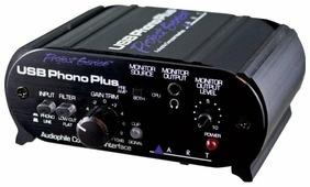 Внешняя звуковая карта ART USB Phono Plus SP