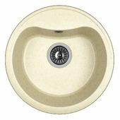 Врезная кухонная мойка Dr. Gans Дора 43.5х43.5см искусственный мрамор
