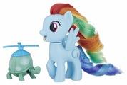 Фигурки Hasbro My Little Pony Радуга Дэш с черепашкой E2567