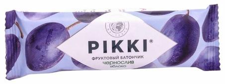 Фруктовый батончик PIKKI Фруктовый батончик, без сахара, чернослив-яблоко, 25 г