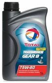 Трансмиссионное масло TOTAL Transmission Gear 8 75W80