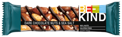 Ореховый батончик Be-Kind Dark Chocolate Nuts & Sea Salt, 40 г