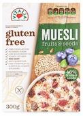 Мюсли Vitalia c семенами и фруктами без глютена, коробка