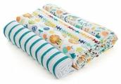 Многоразовые пеленки aden + anais муслин 112х112 комплект 4 шт.