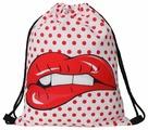HOMSU сумка-мешок для сменной обуви Red Lips (PF-S-45)