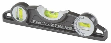 Уровень торпедо 3 глаз. STANLEY FatMax XL Torpedo 0-43-609 25 см