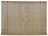 Рулонная штора Эскар бамбуковые (охра)
