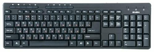 Клавиатура SVEN Standard 307M Black USB
