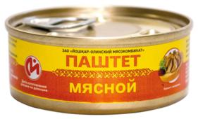 Паштет Йошкар-Олинский мясокомбинат Мясной 100 г