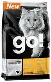 Корм для кошек GO! Sensitivity + Shine беззерновой, при чувствительном пищеварении, с уткой