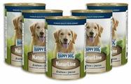 Корм для собак Happy Dog NaturLine ягненок с рисом 400г