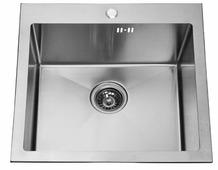 Врезная кухонная мойка ЕМАР EMB-116 51х51см нержавеющая сталь