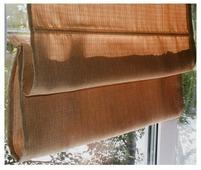 Римская штора Эскар тканевая (терракотовый)