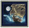 Золотое Руно Набор для вышивания К дальним берегам 41,9 х 37,9 см (ММ-013)