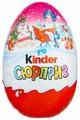 Шоколадное яйцо Kinder Сюрприз, серия Новогодняя для девочек, 220 г