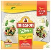 Mission Deli Лепешки пшеничные со злаками, бездрожжевые 333 г