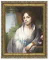Золотое Руно Набор для вышивания Портрет Лопухиной 46 х 37,4 см (МК-010)