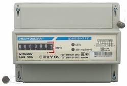 Счетчик электроэнергии трехфазный однотарифный Энергомера ЦЭ6803В 1 230В 3ф.4пр. М7 Р31 5(60) А