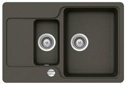 Врезная кухонная мойка Schock Cambridge 60D 77х51см искусственный гранит