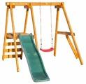 Спортивно-игровой комплекс Babygarden Качели с горкой 1.8 м