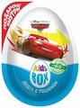 Шоколадное яйцо Конфитрейд KidsBox DISNEY ТАЧКИ десерт с подарком, 20 г