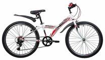 Подростковый горный (MTB) велосипед Novatrack Racer 24 6 (2019)