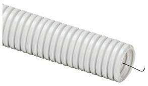 Труба гофрированная ПВХ с зондом DKC 16 мм x 100 м