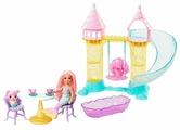 Кукла Barbie Замок русалочки Челси, FXT20