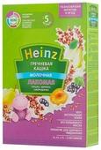 Каша Heinz молочная Лакомая гречневая c грушкой, абрикосом, смородинкой (с 5 месяцев) 200 г