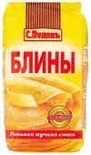 С.Пудовъ Мучная смесь Блины, 0.5 кг