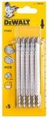 Набор пилок для лобзика DeWALT DT 2052 5 шт.