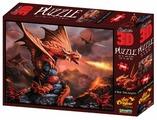 Пазл Prime 3D Огненный дракон (10090), 500 дет.