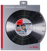 Диск алмазный отрезной 350x2.8x30 Fubag Beton Pro