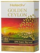 Чай черный Heladiv Golden Ceylon OPA Super Big Leaf
