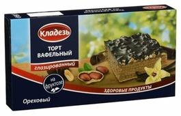 Торт Кладезь Вафельный ореховый