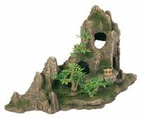 Грот TRIXIE Скалы с пещерой с растениями (8854) высота 27.5 см